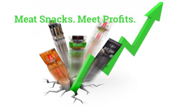 Meat Snacks. Meet Profits.