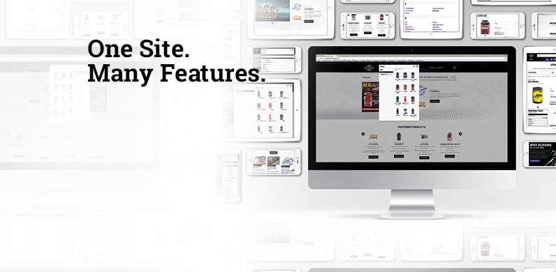 One Site. Many Features.