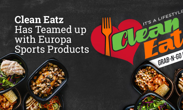 Clean Eatz Has Teamed up with Europa Sports Products