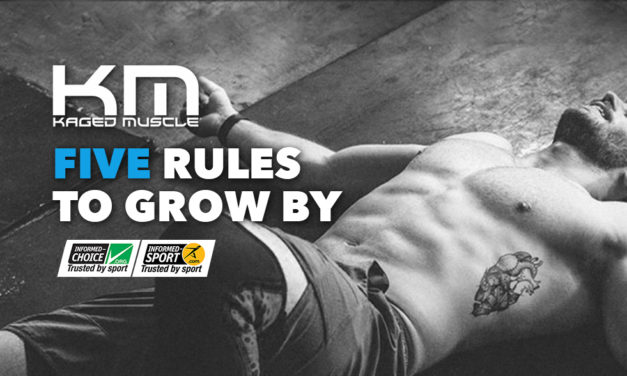 Five Rules to Grow By via Kaged Muscle