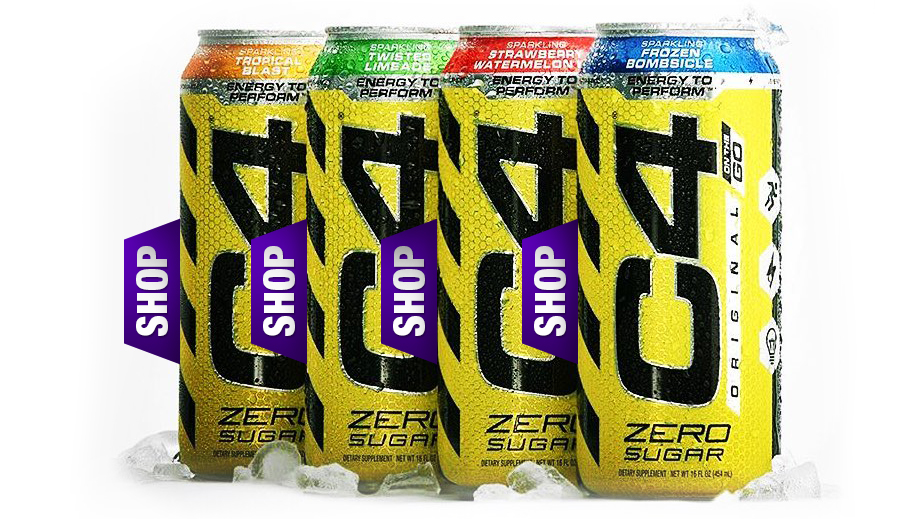 Your New Pre Workout Energy Via Cellucor Europa Sports