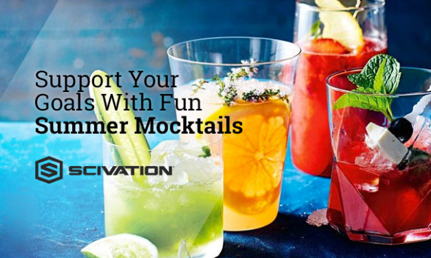 "Support Your Goals With Sun Summer ""Mocktails"" via Scivation"