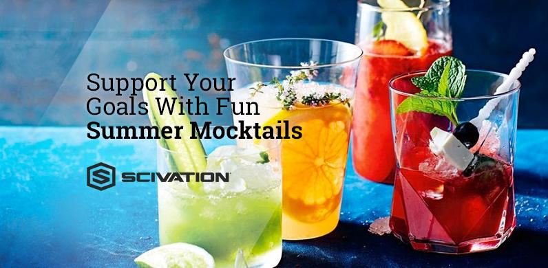 "Support Your Goals With Sun Summer ""Mocktails"" via Scivation"