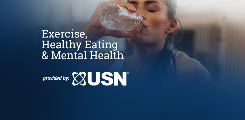 Exercise, Healthy Eating & Mental Health via USN