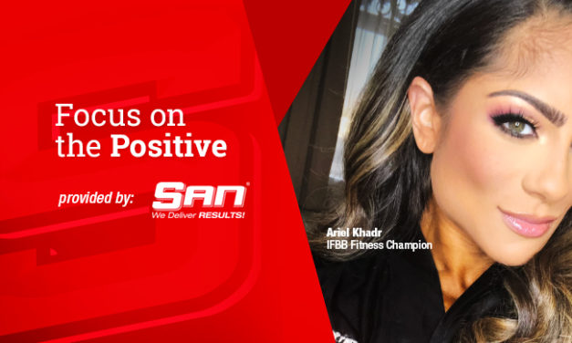 Ariel Khadr Says: Focus on the Positive via SAN
