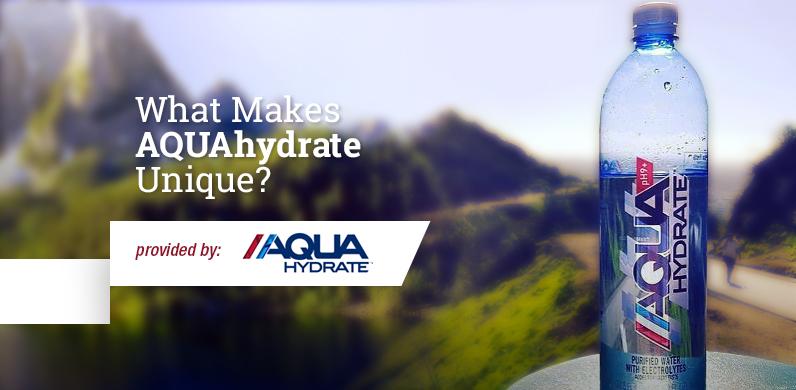 What Makes AQUAhydrate Unique?