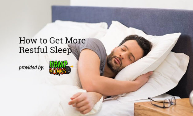 How to Get More Restful Sleep via Hemp Bombs