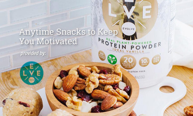 Anytime Snacks to Keep You Motivated via Evolve