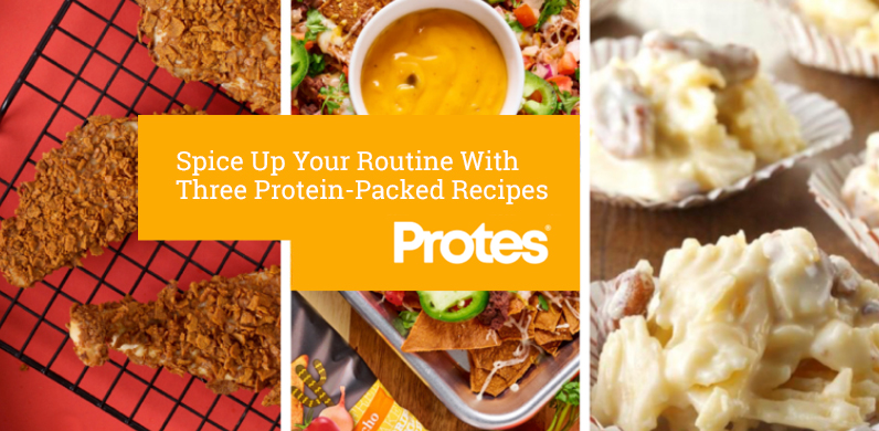 Spice Up Your Routine With Three Protein-Packed Recipes via Protes