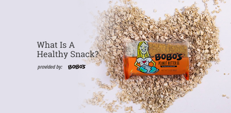 What Is A Healthy Snack? via Bobo's