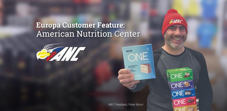 Europa Customer Feature – American Nutrition Center, Everett, MA