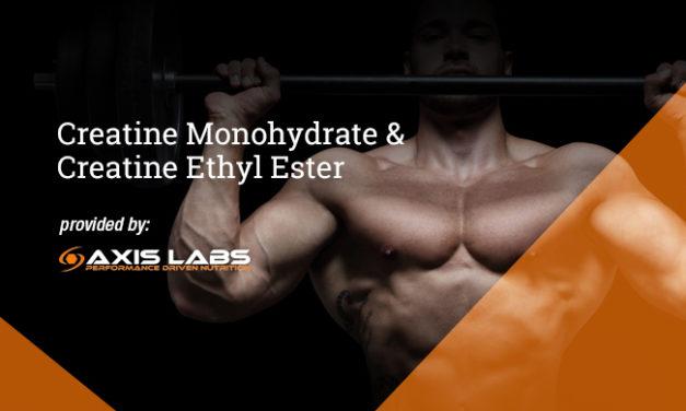 Creatine Monohydrate & Creatine Ethyl Ester