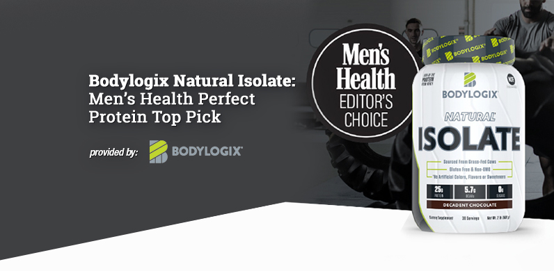 Bodylogix Natural Isolate – Men's Health Perfect Protein Top Pick