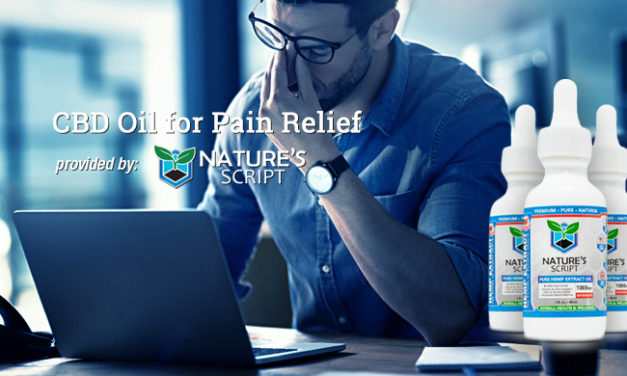 CBD Oil for Pain Relief via Nature's Script