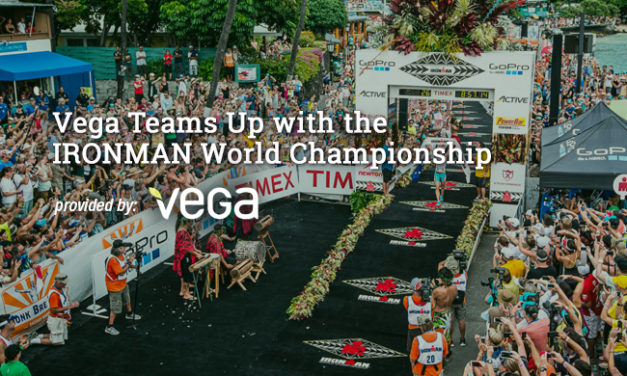 Vega Teams Up with the IRONMAN World Championship