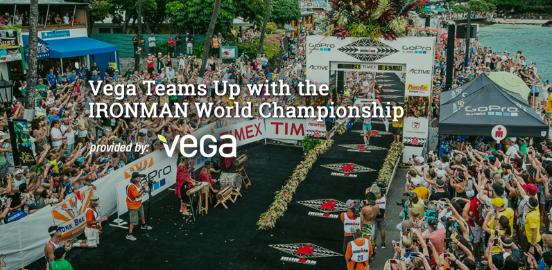 Vega Teams Up with the IRONMAN World Championship