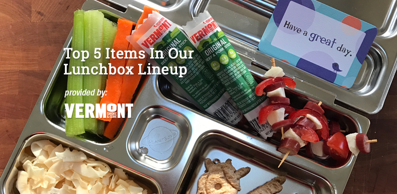 Top 5 Items In Our Lunchbox Lineup via Vermont Smoked Meats