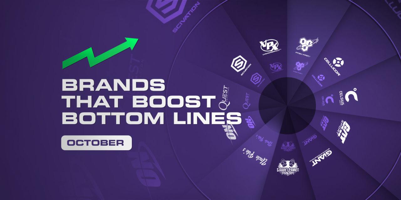 Brands That Boost Bottom Lines – October