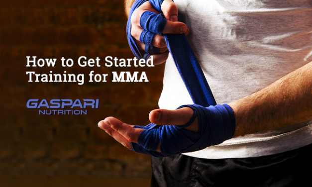 How to Get Started Training for MMA via Gaspari Nutrition