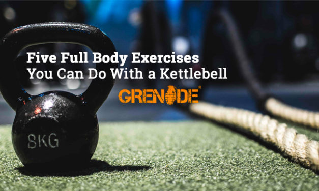 Five Full Body Exercises You Can Do With a Kettlebell via Grenade