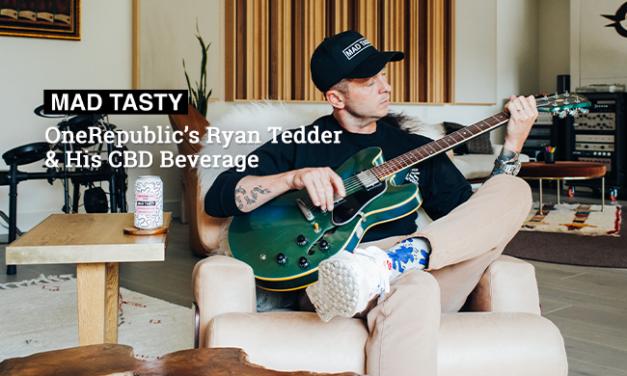 OneRepublic's Ryan Tedder & His CBD Beverage via Mad Tasty