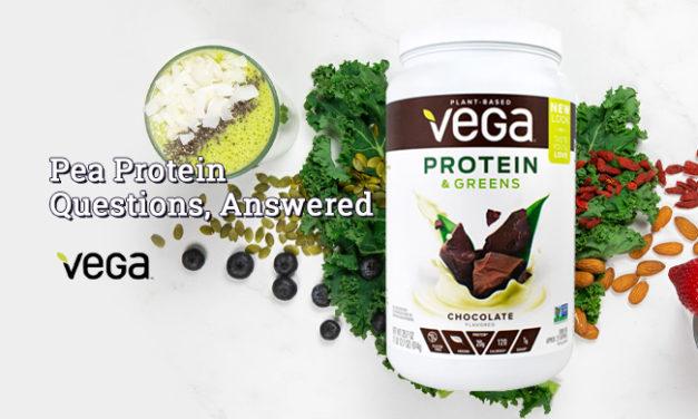 Pea Protein Questions, Answered via Vega