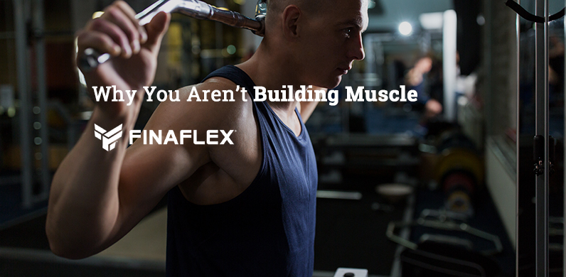 Why You Aren't Building Muscle via Finaflex
