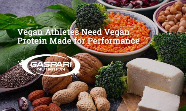 Vegan Athletes Need Vegan Protein Made for Performance via Gaspari
