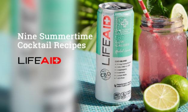 Nine Summertime Cocktail Recipes via Lifeaid